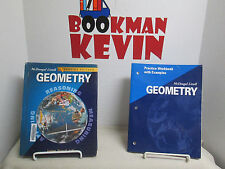 McDougal Geometry FL Student Text/Workbook Bundle (2004) GOOD (R2s7-B)k822