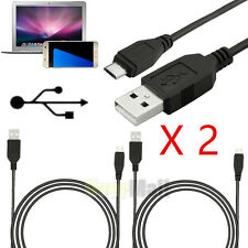 2 X Micro USB Charger Sync Data Transmission Cable Cord for Android Smartphone