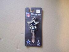 Dallas Cowboys 3D Kwikset house key blank