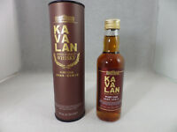 KAVALAN Single Malt Whisky PORT OAK 50ml Miniature NEW Sealed