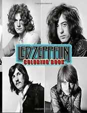 Led Zeppelin Collection Coloring Book: All Amazing Charaters Led Paperback 2020