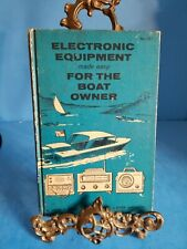 Electronic Equipment made easy for the Boat Owner John Lenk HB 1962 No. 287*TB1*