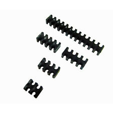 Black Cable Comb Set For 3mm OR 4mm Sleeved cable Water Cooling
