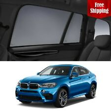 BMW X6M 2014-2018 F86 Car Rear Sun Blind Shade Baby Kid Protection