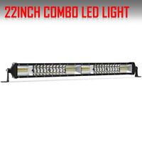 "20inch 1360W Dual Row LED Light Bar Spot Flood Off road SUV UTE ATV 22"" 23"" 24"""