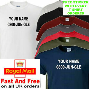 im a celebrity t shirt add name with order kids and adult sizes