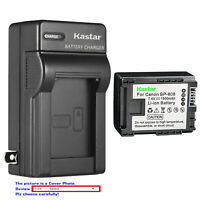 Kastar Battery Wall Charger for Canon BP-808 CG-800 & Canon FS20 FS21 Camcorder