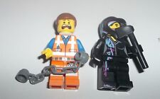 Lot of Lego Minifigures - The Lego Movie - Emmet and Wyldstyle