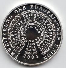 10 Euro Gedenkmünze Erweiterung der EU 2004 Polierte Platte Silber 925/-