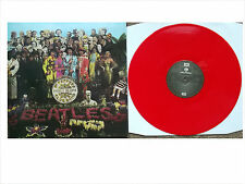 The Beatles Sgt. Pepper's SEALED Red Color Vinyl LP Rare UK Reissue