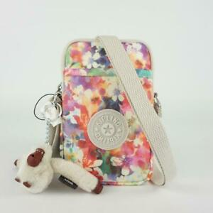 KIPLING TALLY Phone Travel Crossbody Bag Garden Happy