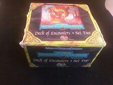 AD&D mazzo di incontri Set due Advanced Dungeons & Dragons TSR 9443