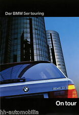 Prospekt BMW 5er Touring 1996 Autoprospekt 6 11 05 09 518i 520i 540i 530i 525tds