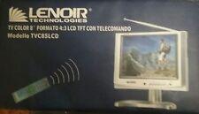 """lenoir tvc85lcd TV color 8"""" pari al nuovo"""