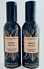 2 BATH & BODY WORKS MANGO MAI TAI CONCENTRATED ROOM SPRAY 1.5oz NEW!