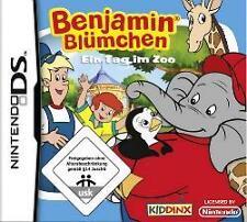 Nintendo DS Benjamin fleurs un jour au zoo *** excellent état