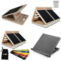 Yes4All Adjustable Wooden/Steel Slant Board Incline Board 10 20 30 35 40 Degree