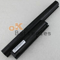 New 6 Cell Battery for Sony Vaio VGP-BPL26 VGP-BPS26 VGP-BPS26A VPCEH16EC