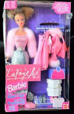 OWN A RARE FRENCH GALLERIES LAFAYETTE Blonde Barbie w/Ma Garde-Robe (Wardrobe)