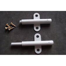 2 Stück Druckschnäpper Möbelschnäpper Hub 20 mm grau