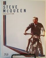 Steve McQueen Collection 4-Disc Blu-ray w/Slipbox Escape Magnificent Crown Sand