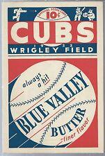 1932 Chicago Cubs Baseball Program Scorecard vs Brooklyn Dodgers F