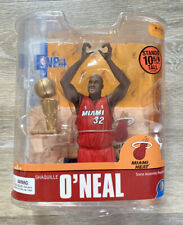 NBA Series 13 SHAQ SHAQUILLE ONEAL MCFARLANE CHAMPIONSHIP TROPHY MIAMI HEAT
