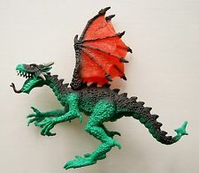 CHAP MEI TOY GREEN DRAGON PVC PLASTIC FIGURE MEDIEVAL KNIGHTS & FANTASY MONSTER
