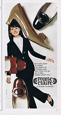 PUBLICITE ADVERTISING 064 1967 MARIE CLAIRE chaussures