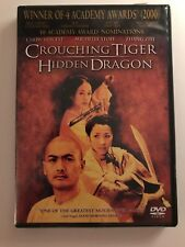 Crouching Tiger Hidden Dragon DVD Complete Disk & Case Chow Yun Fat AWESOME FILM