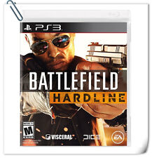 PS3 Battlefield Hardline SONY PLAYSTATION Action Games Electronic Arts EA