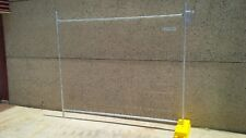 Temporary Fence Fencing Panel 2.4m x 2.1m, Clamps, Bases Stays also available