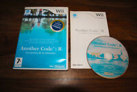 Jeu ANOTHER CODE : R pour Nintendo Wii PAL COMPLET (CD OK)