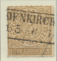 North German Confederation Stamp Scott #6, Used