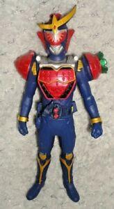 "Kamen Rider Gaim Ichigo Arms 7"" Action Figure Bandai 2013 Red & Blue"