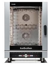 Turbofan EC40D10 Electric Combi Oven 10x1/1GN Pan or 10x600x400mm Tray Capacity