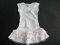 Baby Graziella / Little Blu Wundevolle zart rosa Kombi Shirt + Rock Gr.2/92