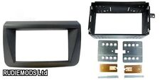 Fiat Croma 05 on Black Double Din Car Stereo Fitting Kit Facia CT23FT07
