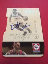 Dorell Wright 76ers  2012-2013 Panini Signatures Die-Cut Auto #85