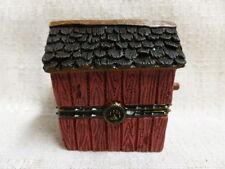 Boyds Bear Lilian's Lovenest W/ Finch McNibble Treasure Box 1E 4021108 NIB