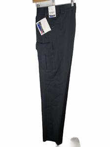 Blauer 8865 Trouser Pants Black Size 48 Unhemmed Uniform pants Side Pocket EMT
