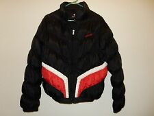 ecko red Black White And Red long Sleeve puffer coat women's Size XLarge