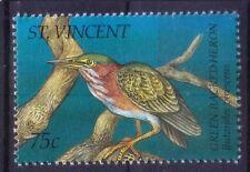 St. Vincent 1995 MNH, Green Backed Heron (U13)