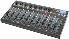 CITRONIC CM10-LIVE 10 CHANNEL COMPACT MIXERS W/ DELAY, USB/SD PLAYER & 3-BAND EQ
