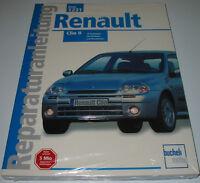 Reparaturanleitung Renault Clio II Typ B Benzin + Diesel Baujahr 1998 - 2012 NEU
