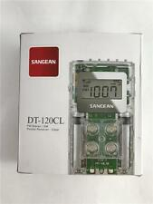 NEW Clear Sangean DT-120CL FM Stereo AM Pocket Radio