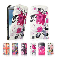 Flip Design PU Leather Wallet Case Cover For Samsung Galaxy Note 2 N7100 N7105