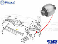 FOR BMW 3 SERIES E46 REAR AXLE LOWER CONTROL ARM TRAILING BUSH 33326771828 MEYLE