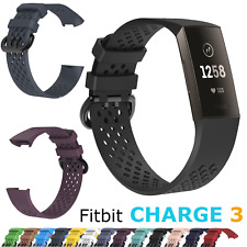 for Fitbit Charge 3 Sport Replacement Strap Secure Band