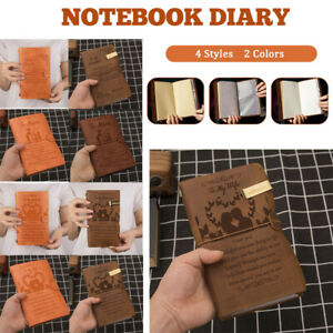 Vintage Style Leather Journal Notebook Diary Sketch Book Handmade